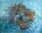 "batik: ""Floating palace"""